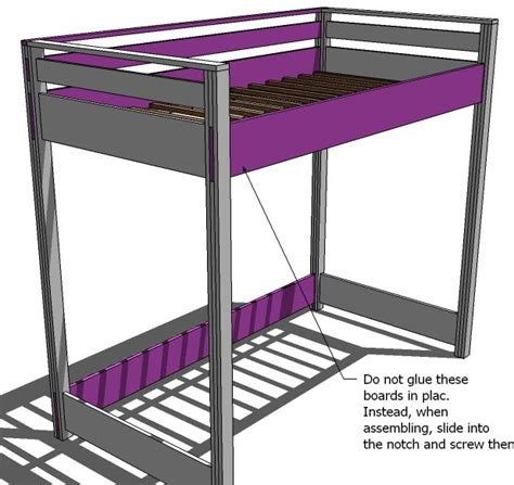 how to build a full size loft bed with desk pdf plans full size loft bed plans free download diy free