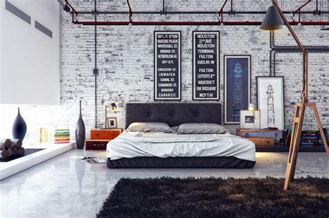 industrial home interior design industrial bedroom 1 interior design ideas