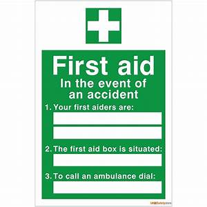 accident statistics template - first aid posters free download