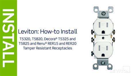 Leviton Presents How Install Tamper Resistant