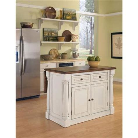 white kitchen island with drop leaf home styles monarch distressed oak drop leaf kitchen island in white 5020 94 the home depot