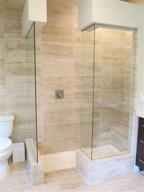 open glass shower frameless shower enclosures ta bay fl