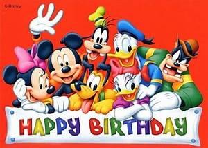 Happy Birthday Mickey Mouse : pin by michelle kloote on crazy happy birthday happy birthday images birthday ~ Buech-reservation.com Haus und Dekorationen