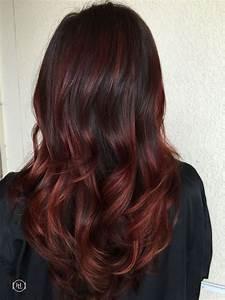 Balayage Braun Rot : mechas balayage 107 ideas estilos y looks para iluminar tu cabello fotos ~ Frokenaadalensverden.com Haus und Dekorationen