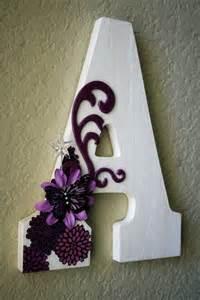 Monogram Wedding Initial Wooden Letters