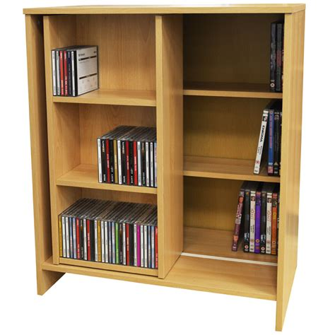 Dvd Bookcase by Slide Media Cd Dvd Storage Bookcase Display Shelves