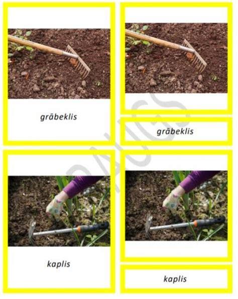 Dārzā - Mācību materiāli