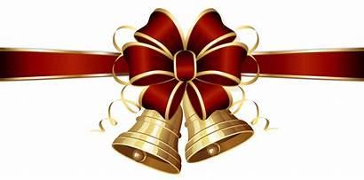 Clipart Christmas Bow Bells Clipground Fullsize