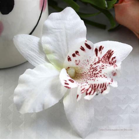 orchidee clip pour cheveux