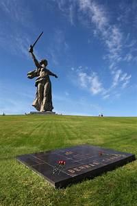 Monument Motherland In Volgograd  Russia Stock Image