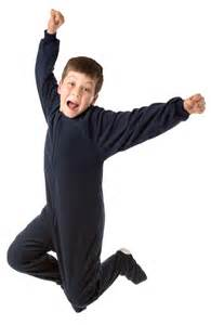 big pjs navy fleece footed pajamas for boys
