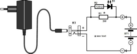 Simple Nicd Battery Charger Electronics Projects