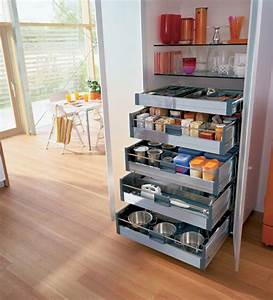 56 useful kitchen storage ideas digsdigs With kitchen cabinets storage ideas