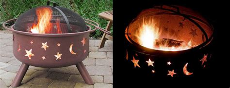 landmann big sky fire pits  green head