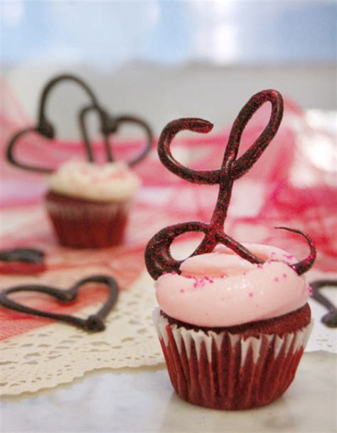 magnolia bakery diy   create chocolate letter