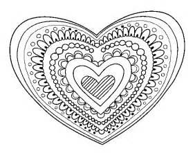 Mandalas Coeur Mandalas Coloriages Imprimer