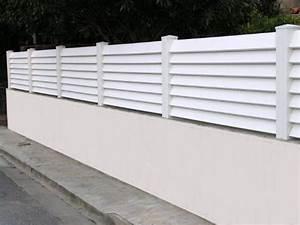 Cloture En Pvc : portail et porte de garage store fenetre la rochelle ~ Premium-room.com Idées de Décoration