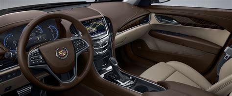 cadillac ats sedan interior  light platinum