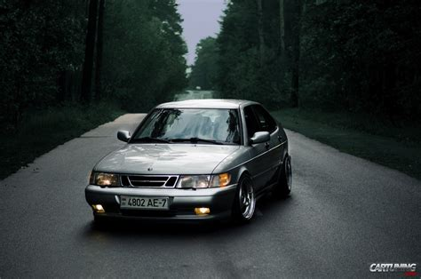 Tuned Saab 9-3 with true fitnent
