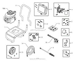 briggs and stratton power products 020278 0 580 752060 2 500 psi craftsman parts diagram for