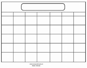 blank calendar template when printing choose landscape With calander templates