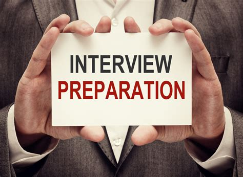 interview success interview success preparation is the key officers