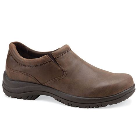 dansko wynn distressed leather brown happyfeetcom