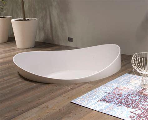 vasca da bagno da appoggio vasca da bagno dune di antonio lupi ideare casa