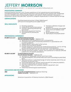 medical assistant resume template health symptoms and With best medical assistant resume