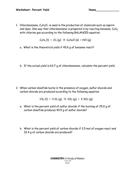 Worksheet Oxidation Numbers Chemistry A Study Of Matter  Free Printables Worksheet