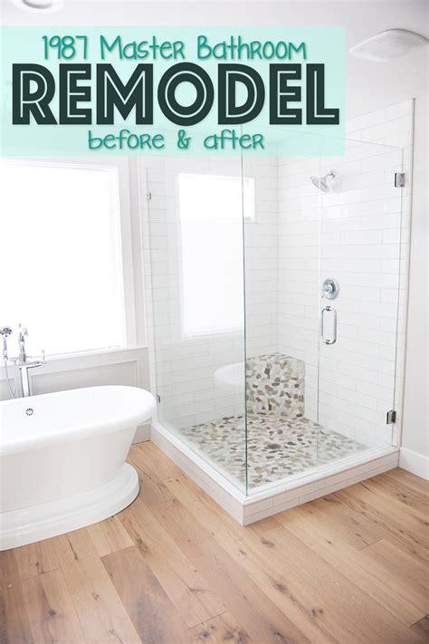 Master Bathroom Renovation Ideas by Master Bathroom Remodel Renovation Idea Before And After