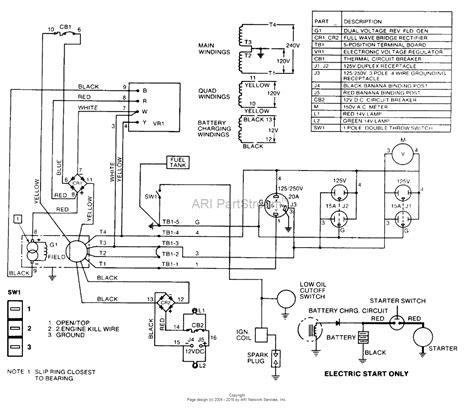homelite hg3500 generator ut 03623 parts diagram for wiring diagram