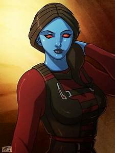 Star Wars Swtor Chiss Lady by suppa-rider by Aliens-of ...