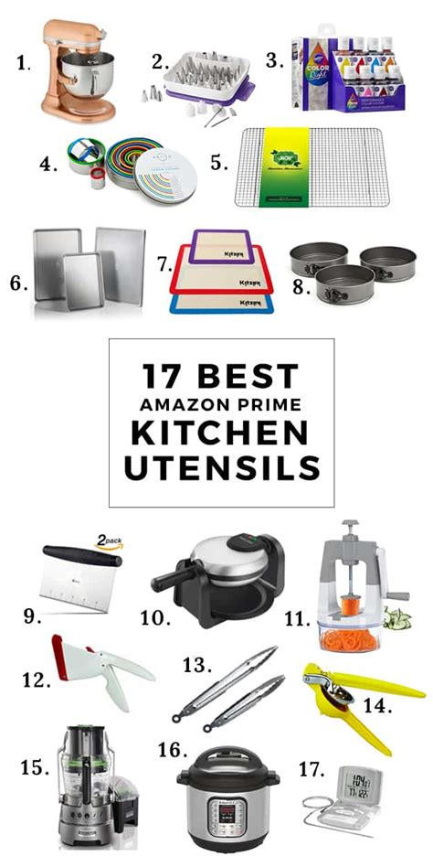 Kitchen Equipment Names And Uses by 17 Best Prime Kitchen Utensils And Equipment The