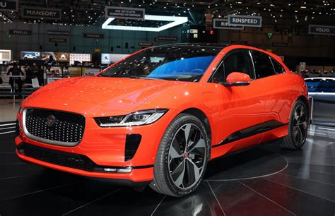 2019 Jaguar Ipace Revealed Jag's Electric Crossover