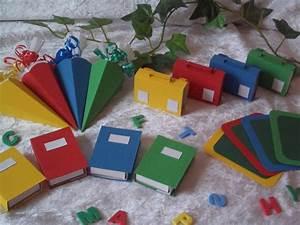 Tischdeko Schulanfang Ideen : 16tlg tischdeko set schult te mappe tischk rtchen b cher einschulung deko bunt in b ro ~ Avissmed.com Haus und Dekorationen