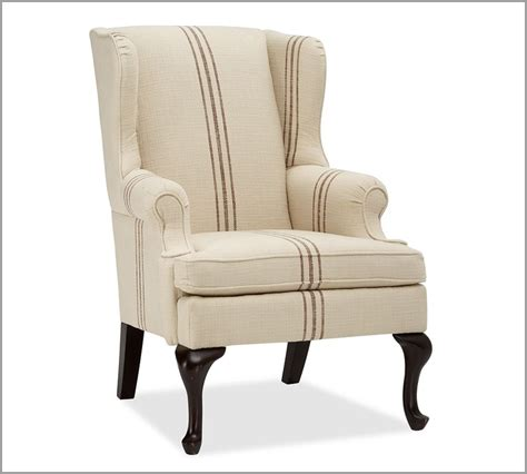 gramercy wingback chair pottery barn for the home