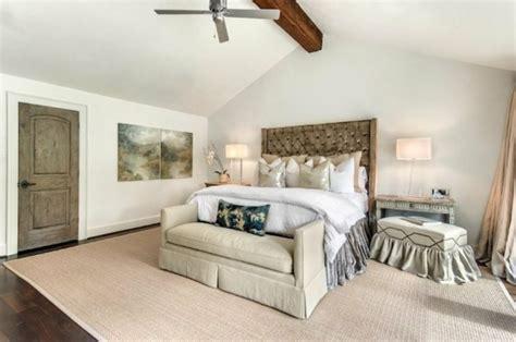 chambre avec poutre deco chambre avec poutre apparente chambre coucher avec