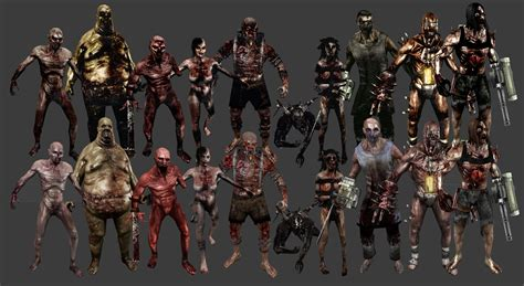 killing floor 2 all zeds the zed specimen list tripwire interactive forums