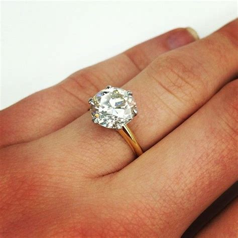 in love with this classic vintage tiffany co engagement