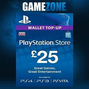 Playstation Store Uk : playstation network psn 25 gbp 25 pounds store card key ps4 ps3 psp uk ebay ~ A.2002-acura-tl-radio.info Haus und Dekorationen