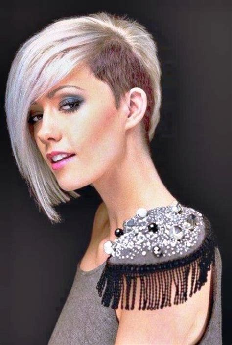 20 half shaved hairstyles for women elle hairstyles