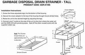 Garbage Disposal Replacement Unit  Tall