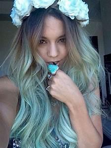 Blaue Haare Ombre : haare f rben gr n blaue augen beauty farbe blau ~ Frokenaadalensverden.com Haus und Dekorationen