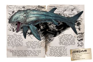 The leedsichthys cannot be tamed, however, it can be because i have also seen leedsichthys in ark survival evolved on mobile. Leedsichthys - Official ARK: Survival Evolved Wiki