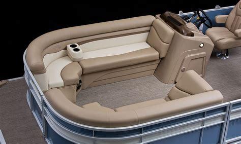 Pontoon Boat Seat Configurations by Sx22 Cruise Fishing Pontoon Boats By Bennington