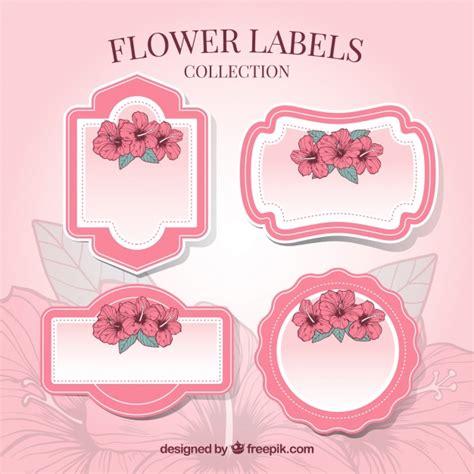 Cornici Per Etichette Confezione Di Etichette Decorative Con Cornici E Fiori