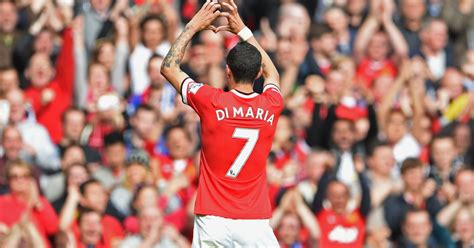 Manchester United Boosted by News Angel Di Maria Could ...