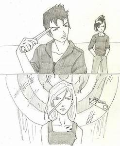 Knife throwing scene | Divergent Drawing | Pinterest ...