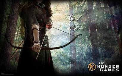 Hunger Games Wallpapers Background Backgrounds Desktop Fire